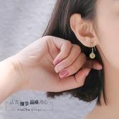 925純銀檸檬水果耳環小清新耳飾個性