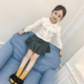 兒童春夏季薄款襯衫女孩襯衣新款韓版公主小孩兒童中大童 店家有好貨