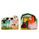 【芬蘭 Top Bright】13259 農場動物拼圖遊戲組 SF00165