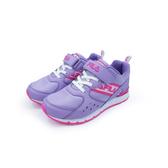 《FILA》兒童 輕量慢跑鞋 紫粉 3-J405U-912