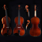 小叮噹的店 - 小提琴 全實木 DYM SV015 初學者 手工提琴 雲杉木 4/4-1/8 小提琴