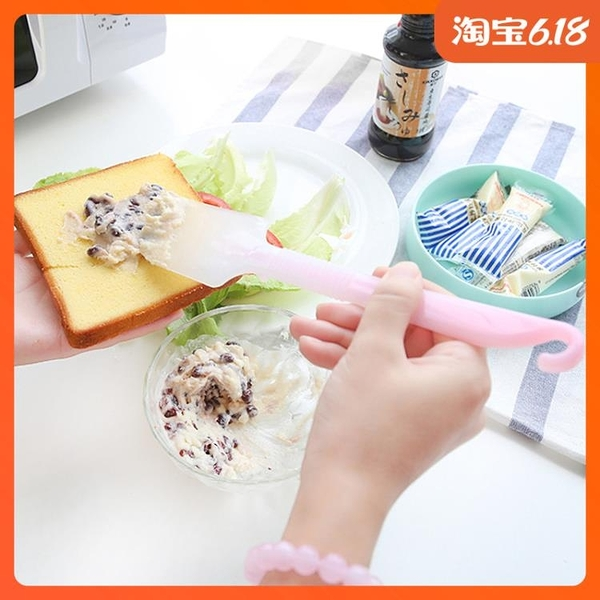 尺寸超過45公分請下宅配日本進口烘焙工具一體式硅膠蛋糕刮刀鏟刀 奶油抹刀耐高溫攪拌刀