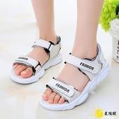 女童涼鞋 女童運動涼鞋2020新款夏季韓版防滑軟底中大兒童女孩公主男童鞋潮