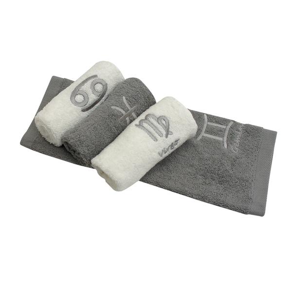 【MORINO摩力諾】個性星座方巾/手帕(超值4條組)
