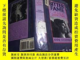 二手書博民逛書店Bitter罕見Fame: A Life Of Sylvia Plath 1989年 小16開硬精裝 原版英法德意