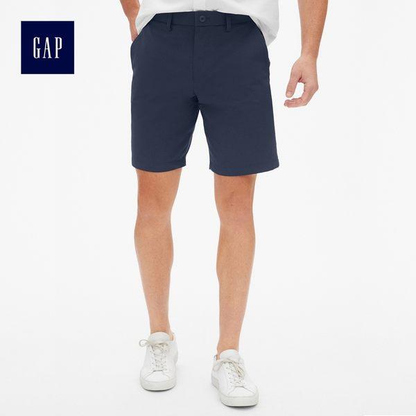 Gap男裝 簡約休閒工裝卡其短褲 459831-海軍藍色