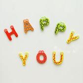 ✭慢思行✭【M103-1】大小寫英文字母磁鐵(26入) 兒童 早教 學習 冰箱 木質 吸附 裝飾 玩具