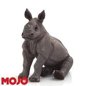 【Mojo Fun 動物星球頻道 獨家授權】 小犀牛(坐姿) 387257