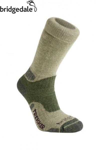 Bridgedale 英國 TK健行者 羊毛保暖襪-中厚 L 綠 169 登山襪子 健行襪 排汗襪 保暖襪 [易遨遊]