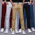 五折 299 優質布料小直筒型男經典素面休閒褲《P3091 》