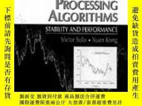 二手書博民逛書店Adaptive罕見Signal Processing Algorithms: Stability And Per