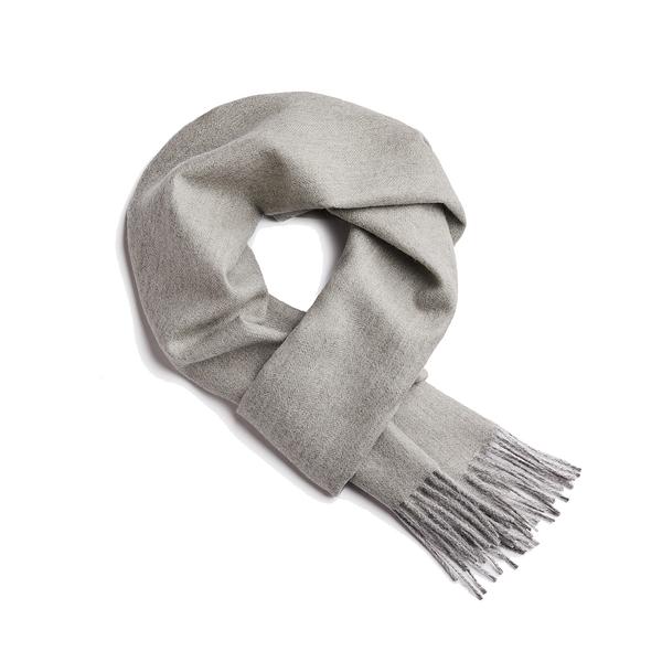 Alpaka Scarf 100% 30x200cm 極致魚骨紋系列 素面單色 羊駝毛 超輕量 圍巾 - 2019 秋冬仕樣(羅曼綠意)