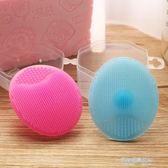 嬰兒硅膠洗頭刷寶寶洗澡按摩搓澡海綿神器梳子去頭垢洗發器軟毛  凱斯盾數位3c