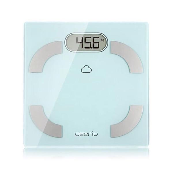 【南紡購物中心】oserio無線智慧 體 脂 計FLG-756(藍芽傳輸/歐瑟若/體 脂 肪計/體重機/基礎代謝)