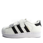 Adidas Superstar Foundation CF C [B26070] 中童鞋 運動 休閒 白 黑 愛迪達