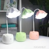 護眼小台燈可USB充電式創意LED宿舍學習保視力書桌大學生床頭夜燈 ATF koko時裝店