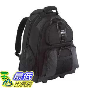 [104美國直購]  電腦背包 Targus Sport Rolling Backpack Case Designed for 15.4-Inch Notebooks, Black (TSB700)$2682
