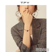 復古小眾設計手鏈女冷淡風手繩簡約手表式手鐲同款手飾 花樣年華