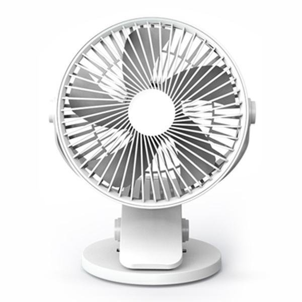 超靜音!夾式風扇 可調角度 站立 充電式 3檔 風扇 電風扇 迷你風扇 小電扇『無名』 P05131