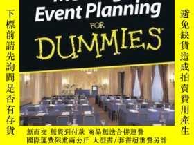 二手書博民逛書店Meeting罕見and Event Planning For DummiesY410016 Susan Fr