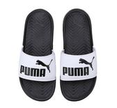 PUMA Popcat 拖鞋 男鞋 女鞋 休閒 舒適 夏日 基本 黑白 【運動世界】 36026501