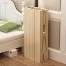 定制實木兒童拼接折疊木床定做加寬大床加長小床單人床邊床午休床 設計師