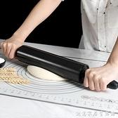 大號不粘滾軸搟面杖 家用搟面棍翻糖披薩餅餃子皮搟面棒烘焙工具