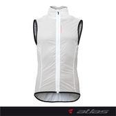 【亞特力士ATLAS】羽量透明風衣背心 JV-600-W (白)