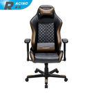 DXRACER  極限電競 賽車椅 DF73 (紳士特務款-黑金)