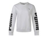 PUMA Rebel Crew Sweat FL 女款白色長袖上衣-NO.58162802