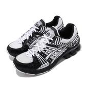 Asics 慢跑鞋 Gel-Kinsei OG 摩登東京 黑 白 幾何 男鞋 【PUMP306】 1021A300100