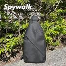 SPYWALK 型男黑色單肩包 (可放水壺) NO:S9421
