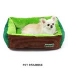 【PET PARADISE 寵物精品】Field Glide 哈密瓜綠細絨睡床 (長57×寬45cm) 寵物睡墊