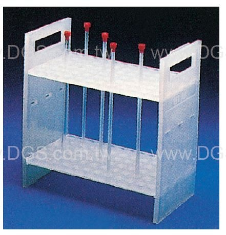 《KONTES》NMR Tube 放置架 NMR Sample Tube Rack ˙ 尺寸8 . 3 x 4 . 5 x 8 . 7 5 / i n