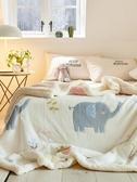 毛毯被子冬季羊羔絨加厚保暖珊瑚絨小毯子法蘭絨墊床單辦公室午睡第一個