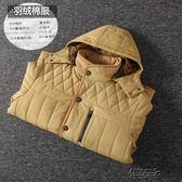 男裝棉衣男士冬季短款連帽棉襖外套原單羽絨棉服