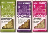 展康 有機十穀蔬菜糙米粉/有機十穀糙米粉/有機山藥米粉 200g/包