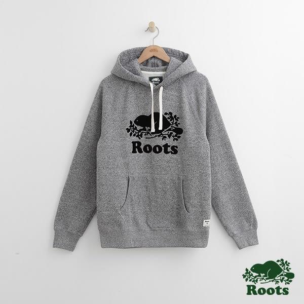 Roots - 男裝 - ROOTS 經典連帽上衣 - 灰色