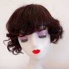 短假髮(整頂真髮絲)波浪捲髮自然仿真女假髮2色73vr25[時尚巴黎]