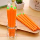 創意胡蘿蔔蔬菜中性筆...