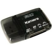 KAMERA 佳美能 KA-401 四合一讀卡機 SDHC / microSDHC / M2 / MS 可支援 32GB