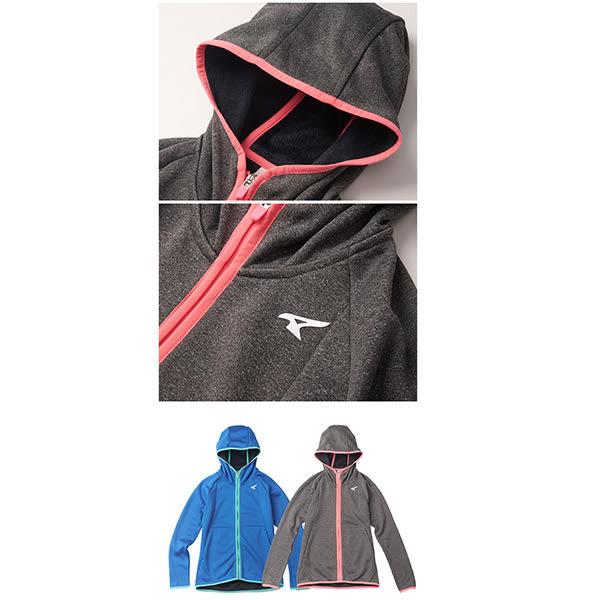 美國AIRWALK 貼合連帽外套-女藍