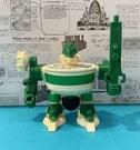 【震撼精品百貨】日本版玩具~旋轉機器人-綠#05888