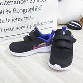 NIKE STAR RUNNER 3 SE(TDV) 小童鞋 運動鞋 魔鬼氈 DJ4696013 黑藍【iSport】