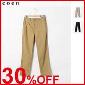 出清 40卡其褲 錐形褲 後鬆緊腰免運費 日本品牌【coen】