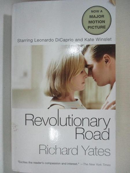 【書寶二手書T9/原文小說_BUL】Revolutionary Road_Yates, Richard