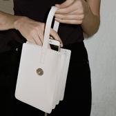 托特包簡約多層迷你手提包-3色