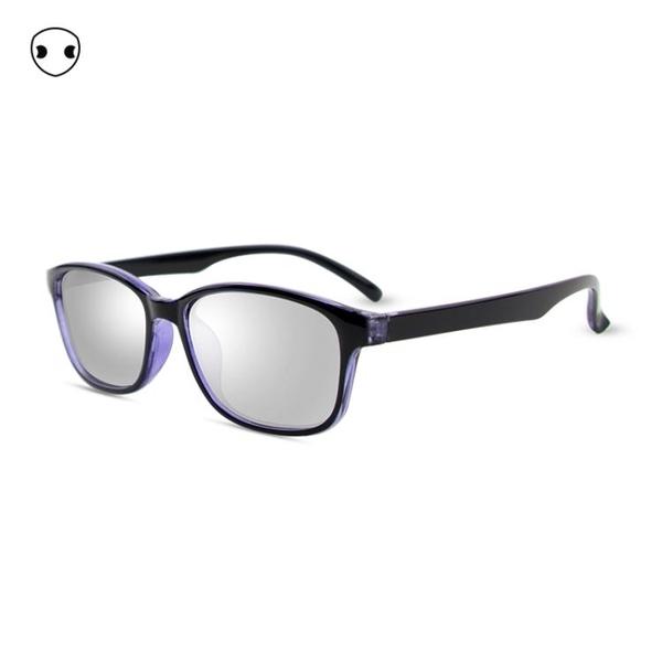 3D眼鏡 奇了炫紫透明框偏光3d眼鏡imax立體高清reald電影院專用男女