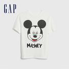 Gap男童Gap x Disney 迪士尼系列米奇短袖T恤539461-白顏色