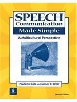 二手書博民逛書店 《SPEECH COMMUNICATION MADE SIMPLE(SECOND EDITION》 R2Y ISBN:0130207977│Dale